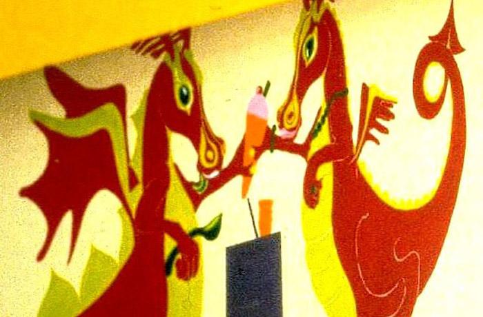 Photo: Mural 'Sure Start'