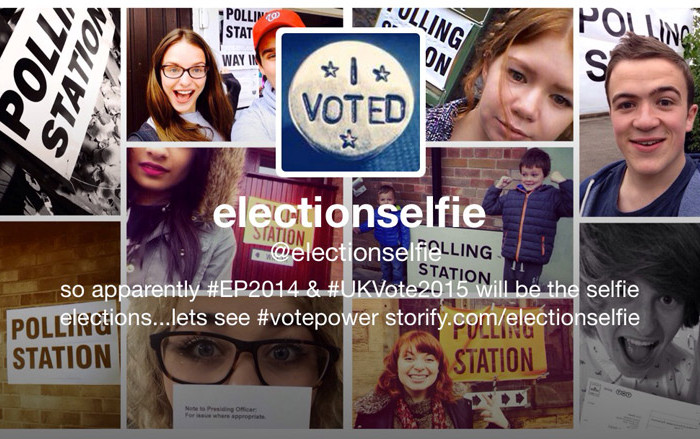 Photo: @electionselfie