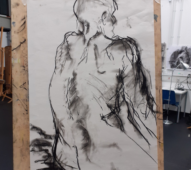 Life Drawing at The University of Suffolk