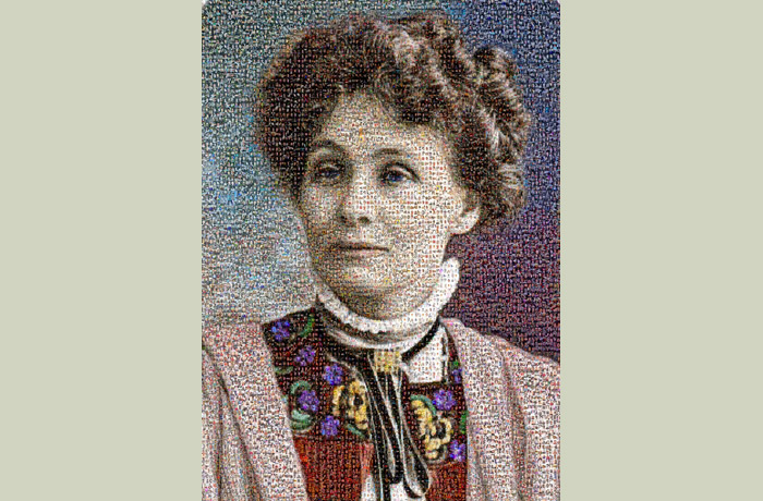 Photo: Emmeline Pankhurst Portrait Exhibitions