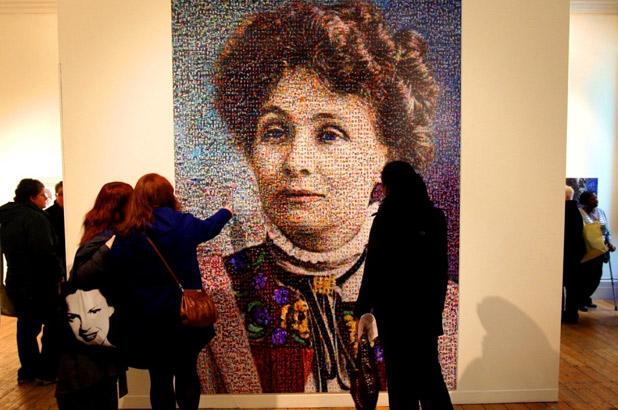 Emmeline Pankhurst Portrait - Manchester Art Gallery